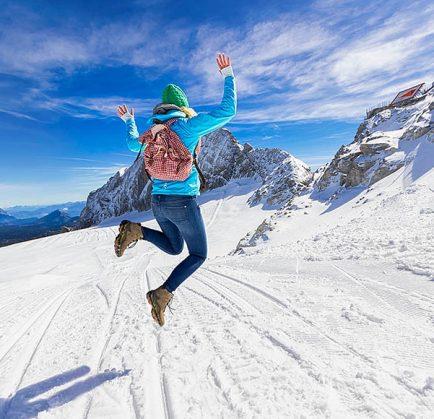 Winterurlaub am Dachstein